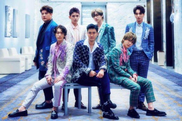 Siwon en compagnie des Super Junior direction Dubai
