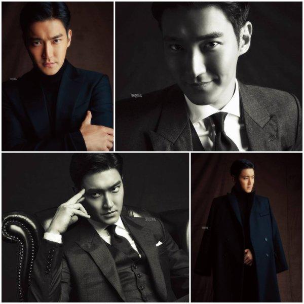 Photoshoot de Siwon pour Harper Bazaar
