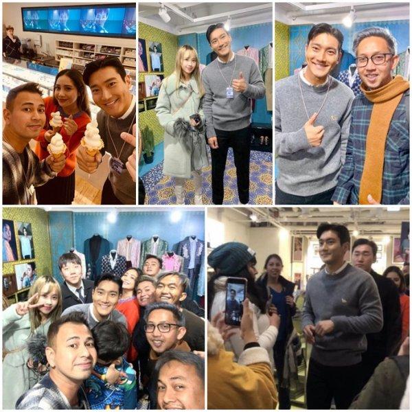 Siwon à COEX Artium le 28 Novembre 2019