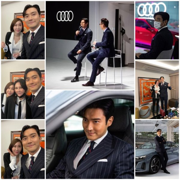 Siwon nous présente la nouvelle Audi en Corée