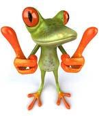 grenouille qui va faire tout pour toi la comme les image ,,hiiihih