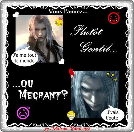 Sondage Sephiroth.