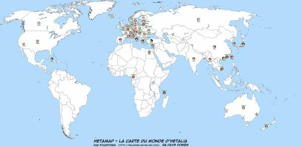 ♦ HetaMap ~ La Carte du Monde d'Hetalia ♦