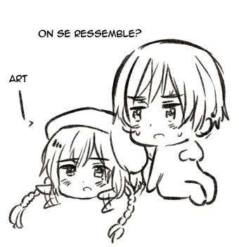 Blog d'Himaruya-sensei ~ Ressemblance