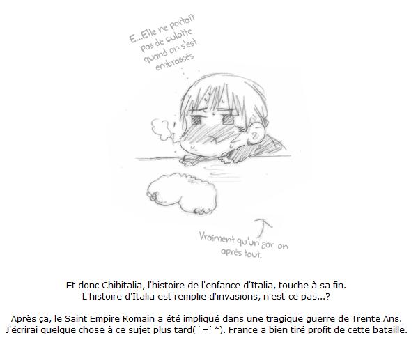 Scantrad ~ Chibitalia & Holy Roman Empire, Au Revoir [2/2]