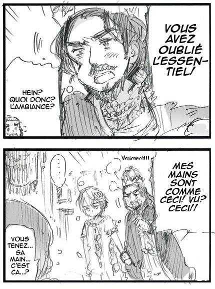 Scantrad ~ Monsieur Persia et les deux rois (1)