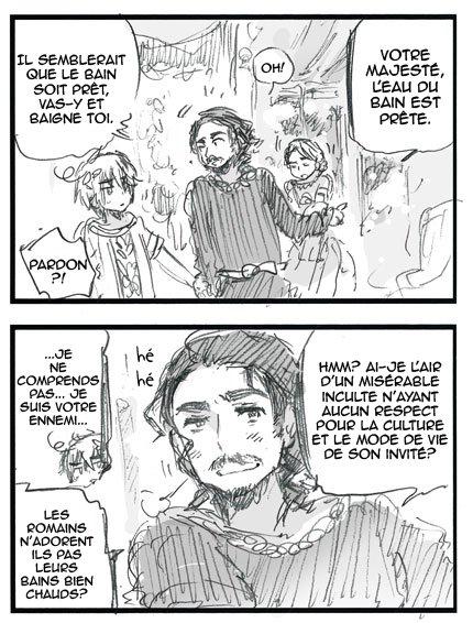 Scantrad ~ Monsieur Persia et les deux rois (2)