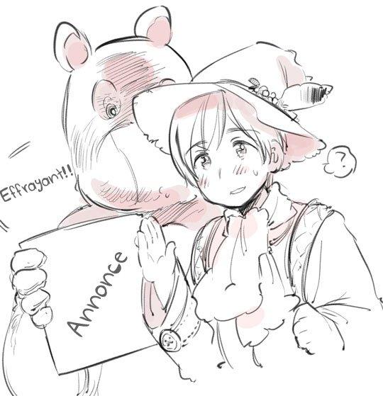 Blog d'Himaruya-sensei ~ Annonce