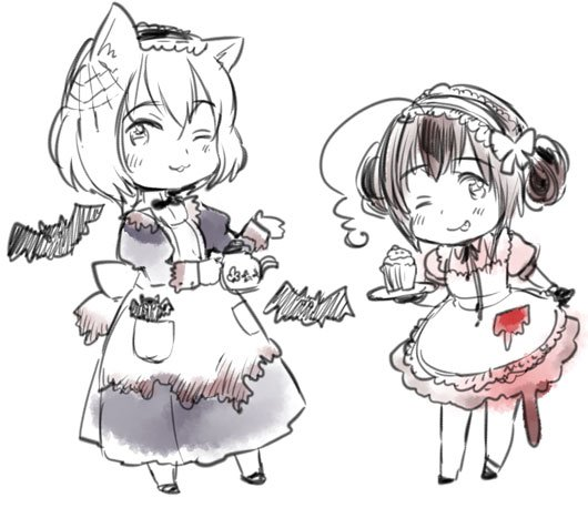Blog d'Himaruya-sensei ~ Servantes fantômes