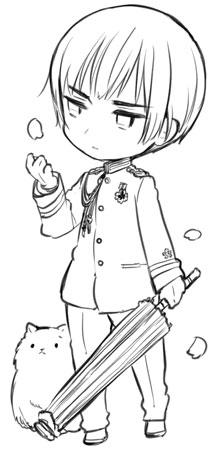 Blog d'Himaruya-sensei ~ Mini!