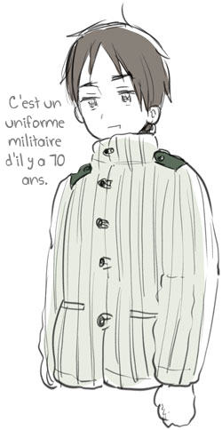 Blog d'Himaruya-sensei ~ Quel froid!