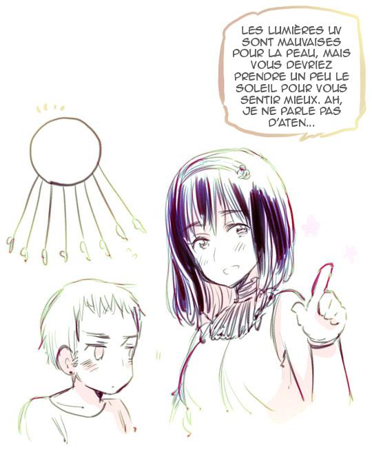 Blog d'Himaruya Sensei ~ Parent et enfant