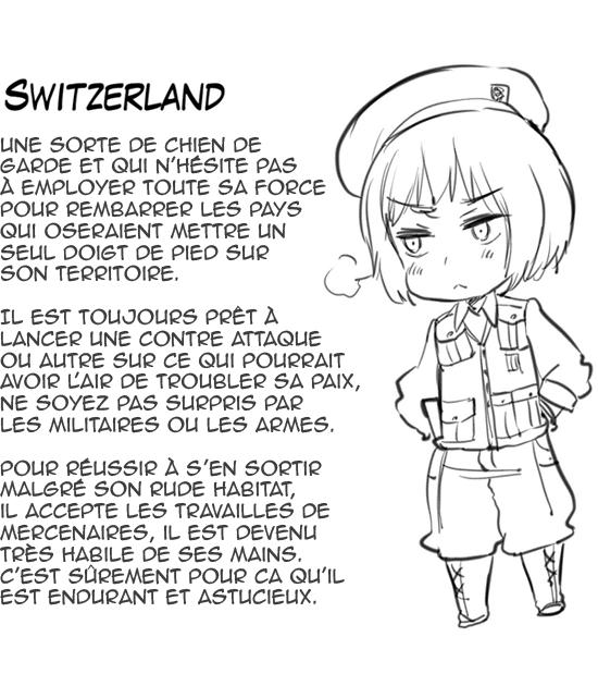 Hetalia World ☆ Stars - Chapitre 45 - Première apparition de Switzerland