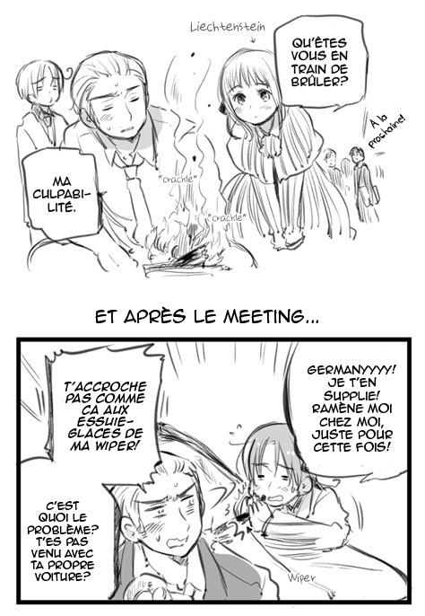 Hetalia World ☆ Stars - Chapitre 01 - Le grand meeting [1/2]