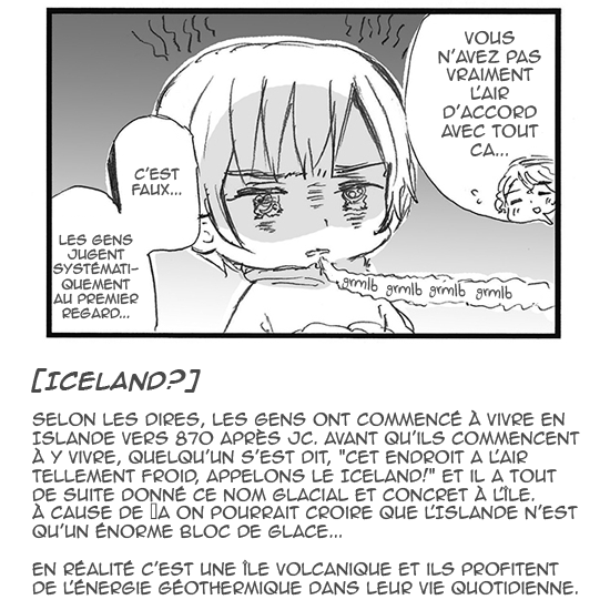 Hetalia World ☆ Stars - Chapitre 115 - Les Origines d'Iceland