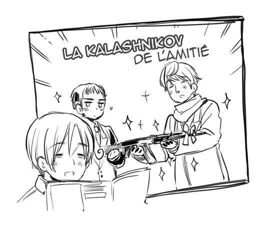 Hetalia World ☆ Stars - Chapitre 51 - Le choix du cadeau