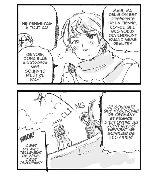Hetalia World ☆ Stars - Chapitre 146 - Un beau cadeau pour son invité