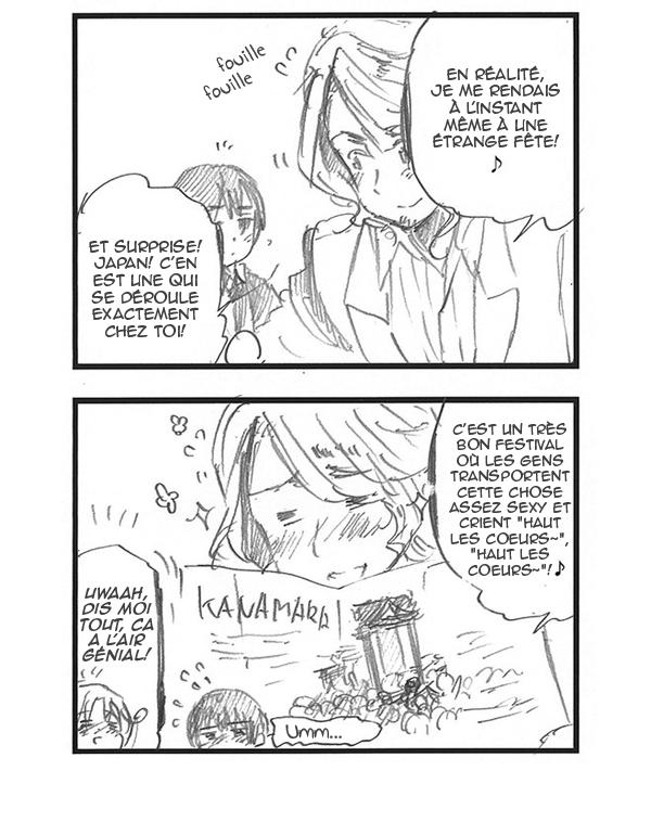 Hetalia World ☆ Stars - Chapitre 226 - Kanamara Matsuri alias la fête du pénis de fer!