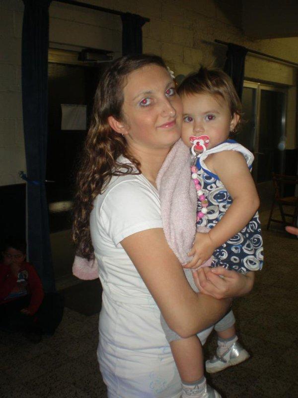 moi et ma fille elena