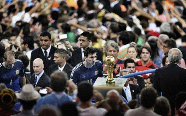 Messi, protagonista de la foto deportiva del año