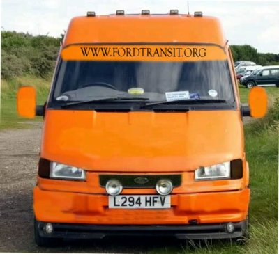 transit tuning en orange ford transit fans. Black Bedroom Furniture Sets. Home Design Ideas