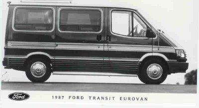 transit eurovan 1987