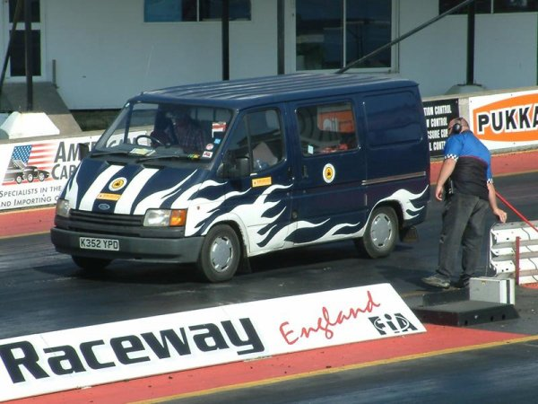 ford transit racing