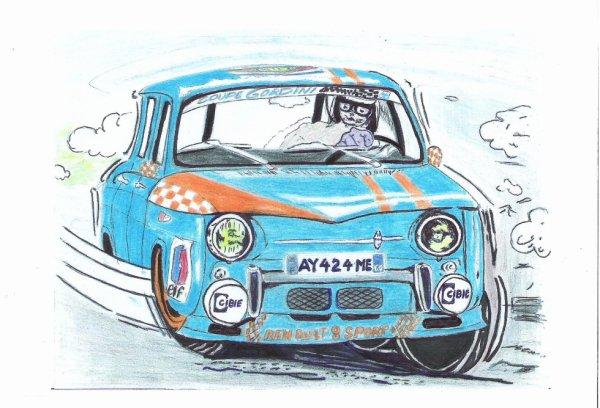 Dessins de ma Renault 8 Sport