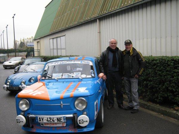 Avec M. Jean Vinatier  , exposition les Gordini d'Amédée le 24.11.2012