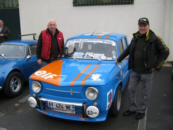Avec M. Jean-Pierre Beltoise , exposition les Gordini d'Amédée le 24.11.2012