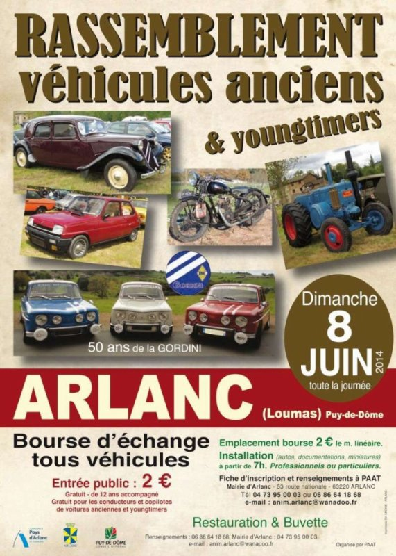 Rassemblement Véhicules Anciens & Youngtimers