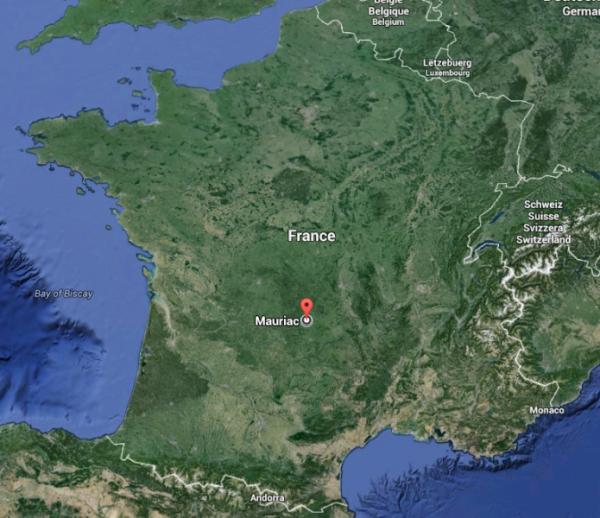 Mauriac ( Cantal 15200 )