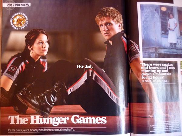 . Des news sur Hunger games en masse !.