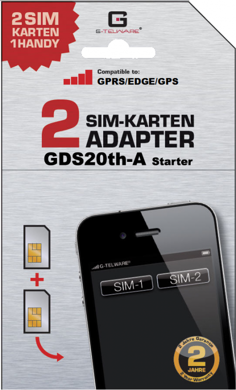 Dual-SIM Adapter- G-telware.de How to use and Its Importance