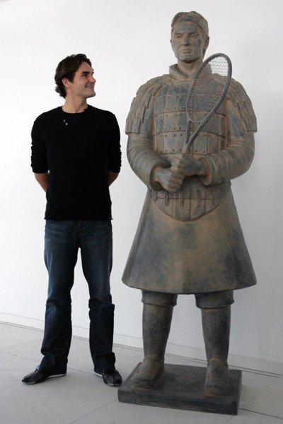 bon joueure Federer
