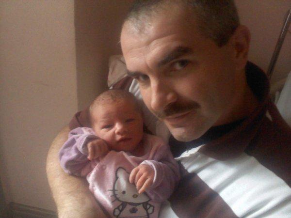 mon homme et ma fille eva