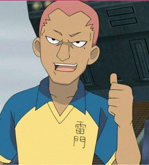 Kevin Dragonfly, le dragon de l'équipe.