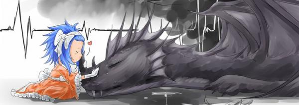 Drabble n°1 : Un dragon affamé ?