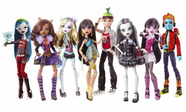 Monster High ♥ Basic 1