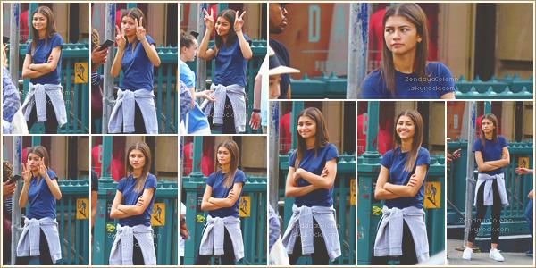 Le 21/06/17,  Zendaya a été photographiée dans les rue de Manhattan avec des amis.