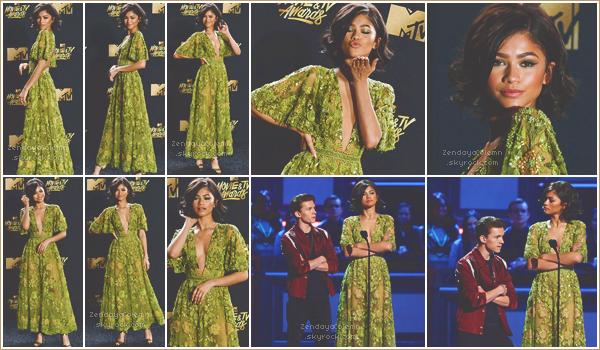 Le 05/05/17, Zendaya à assisté aux MTV Movie & TV Awards - Los Angeles.