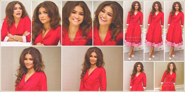 Le 28/06/17, Zendaya était en conférence de presse au London Hotel - Los Angeles.