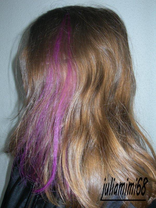 extensions violet rougeatre pour Anthéa