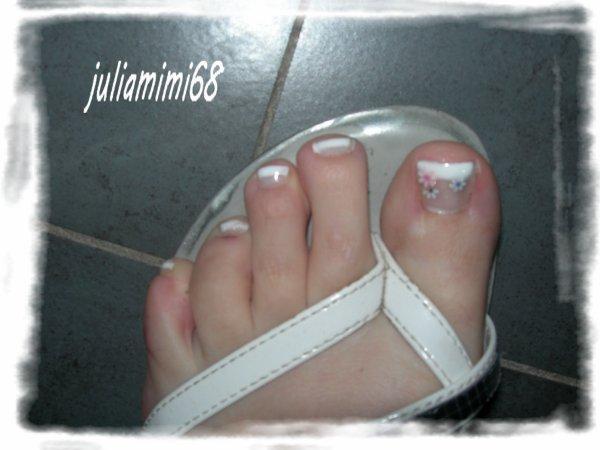 mes pieds!