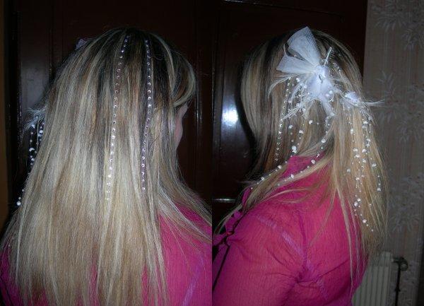 jour j pour Marjorie ; coiffure et french manucure