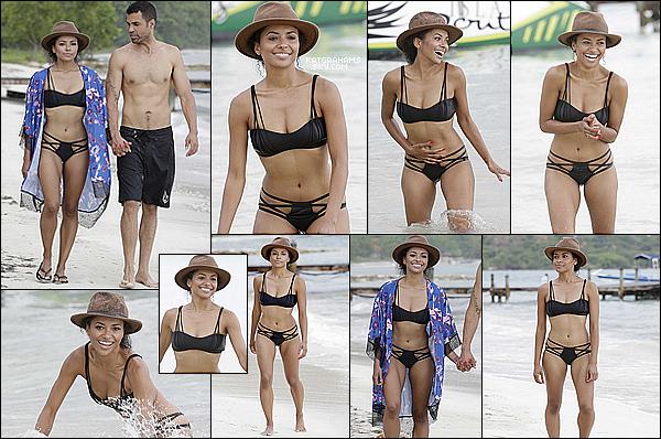 * 08.07.2014 I Kat et Cottrell a la plage en Jamaique. *