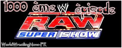 News : Un autre Raw de trois heures en juin prochain, la wwe confisque des pancartes et John Morrison de retour a la WWE ?