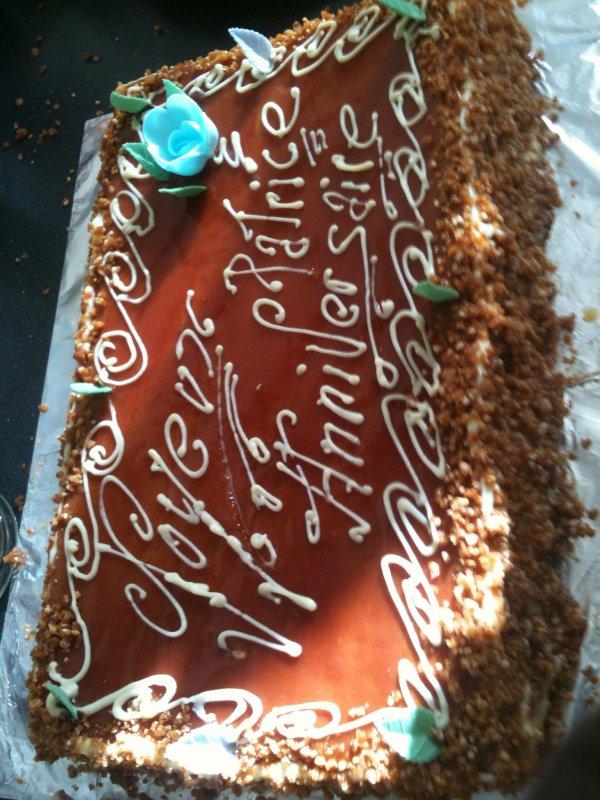gateau d'anniversaire à la goyave - migou972