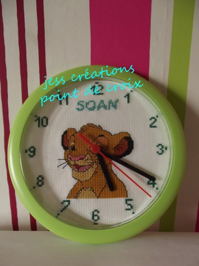 horloge simba