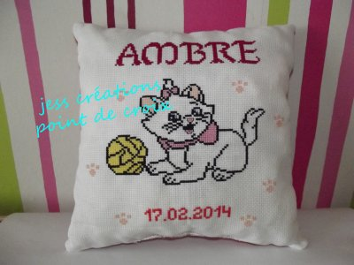 coussin marie des aristochats